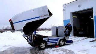 Машина для профессиональной заливки и уборки льда Olympia Millennium. Olympia Ice-resurfacing