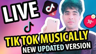 HOW TO GO LIVE ON TIK TOK MUSICAL.LY NEW UPDATED VERSION | TIK TOK LIVE TUTORIAL IN HINDI | #TIKTOK