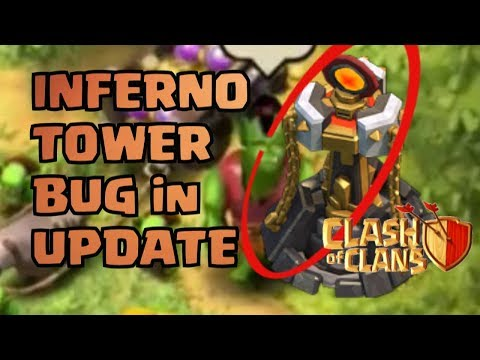Clash Of Clans March Update 2018 BUG FOUND!!! INFERNO TOWER SOUNDS!!! *GLITCH MUST BE FIXED!*
