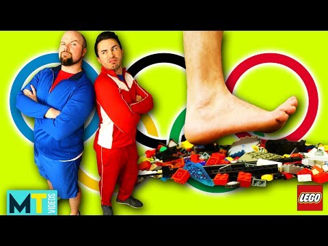 Men Try the Extreme Olympic Challenge