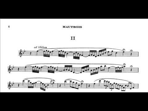 Oboe Sonata in D major, op. 166 (Saint Saëns)