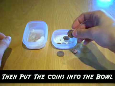 How To Clean Filthy And Old Coins With An Easy Trick - Video.flv