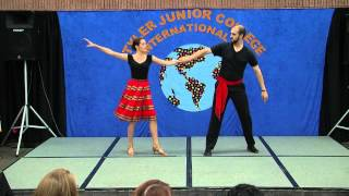 Tango & La Cumparsita Dance by Michael & Molly Roberts (International Day 2014)