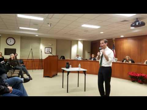 Mayor Bronin In Rocky Hill CT On Regionalization