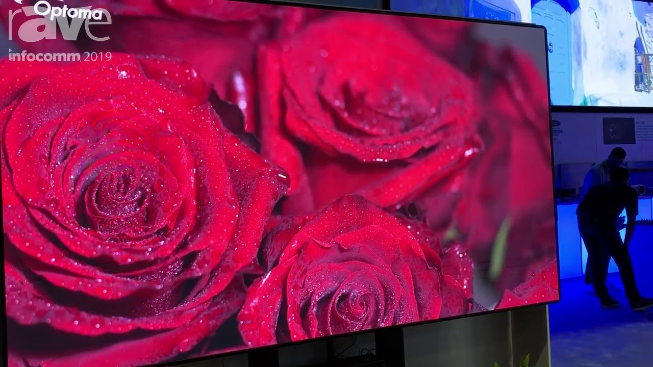 InfoComm 2019: Optoma Shows Off Pre-Configurated, Pre-Calibrated FHDQ130  QUAD LED Display Package