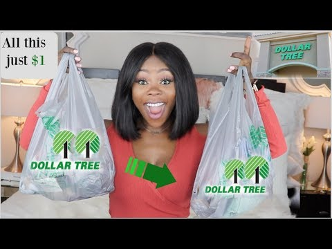 HUGE DOLLAR TREE HAUL | Exciting new finds + DIY ideas |10/24/19 Brand name times