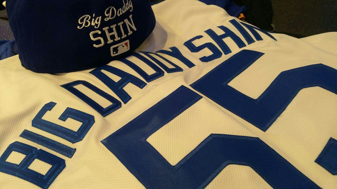 6fade2b29ff93 Where To Get AUTHENTIC Custom Dodgers Lettering For Jersey And Hat In Los  Angeles