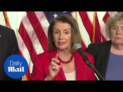 Nancy Pelosi Says Trump Wants To 'make America White Again'
