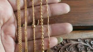 One gram gold plated chain||daily use chains#chain