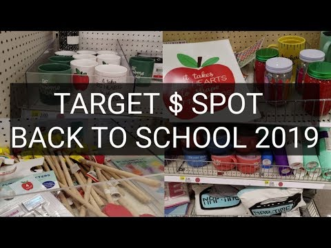 NEW TARGET DOLLAR SPOT BACK TO SCHOOL FOR TEACHERS. JULY 2019