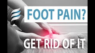 Get rid of foot pain - Plantar Fasciitis
