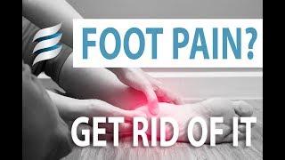 Get rid of foot pain - Plantar Fasciitis