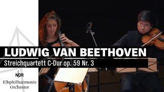 Ludwig van Beethoven: Streichquartett C-Dur op. 59 Nr. 3   NDR