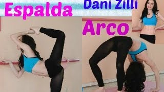 Elasticidad para espalda, hacer el arco/ ejercicios flexibilidad