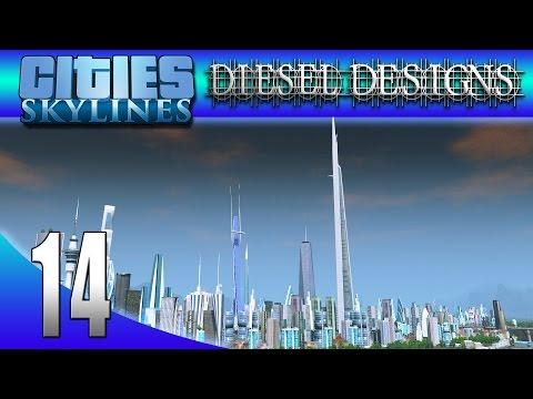 Cities: Skylines: S514: Gula's Kingdom Tower! (City Building Series)