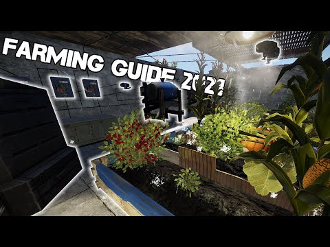 Download or watch: COMPLETE Farming Beginner to PRO Guide  vudeo 2021  RUST Tutorial