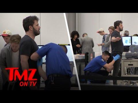 TSA Gets Handsy With Ben Affleck | TMZ TV