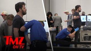 Repeat youtube video TSA Gets Handsy With Ben Affleck | TMZ TV