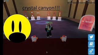 CRYSTAL CANYON! (roblox unboxing simulator)