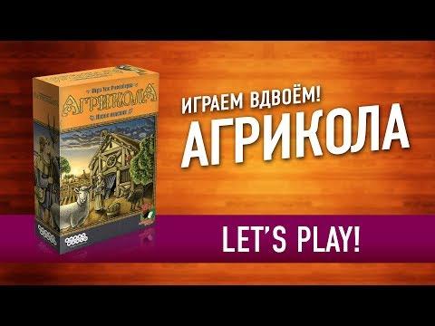 Играем в настольную игру «АГРИКОЛА». ФЕРМА прямо на СТОЛЕ! // Let's Play AGRICOLA Board Game