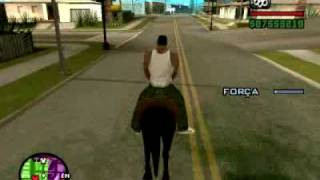 GTA SAN ANDREAS - CAVALO DO CJ ( PC )