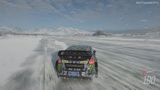 Forza Horizon 4 - 2016 Hoonigan Gymkhana 10 Ford Focus RS RX Gameplay