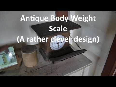 Antique Portable Body Weight Scale