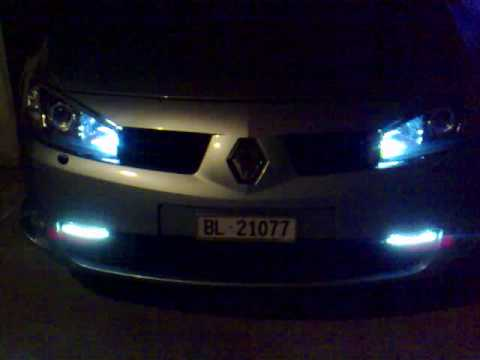 Megane RS com Led´s_Portugal - YouTube
