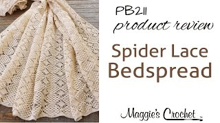 Spider Lace Bedspread Crochet Pattern Product Review PB211