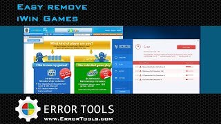 Remove iWin Games from your Computer