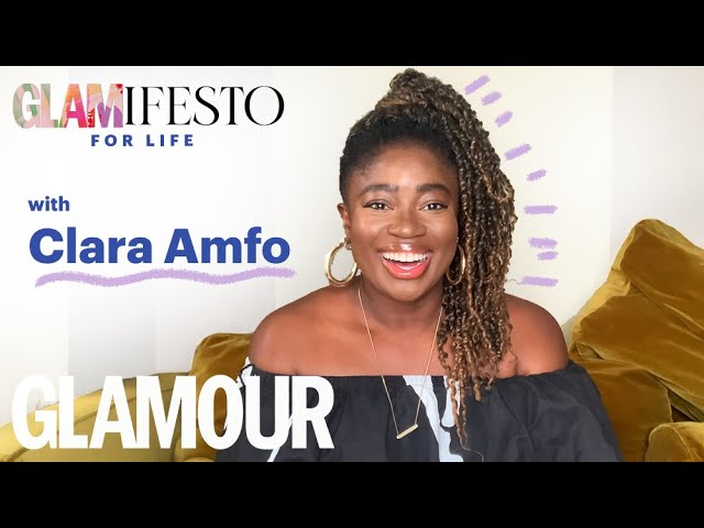My Glamifesto For Life With Clara Amfo: Radio 1 DJ On Her Hacks For Wellness. | GLAMOUR UK