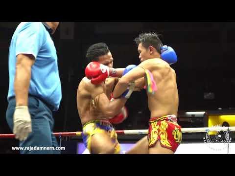 Jitmueangnon Super fight at Rajadamnern Boxing Stadium : YOD PHANOM RUNG VS CHAMUAK THONG