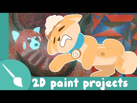 2d painting projects