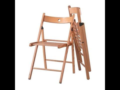Стол раскладной с лавками (комплект) - YouTube