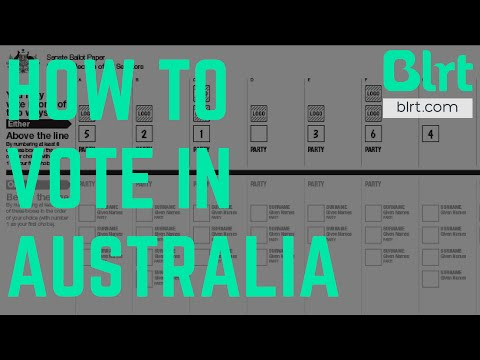 How To Vote: Australian Federal Election 2016