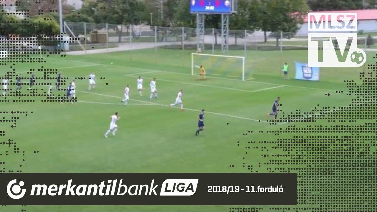 Duna Aszfalt TVSE - Aqvital FC Csákvár| 2-1 (0-0) | Merkantil Bank Liga NB II.| 11. forduló |