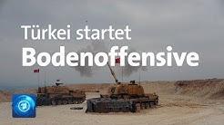 Militäreinsatz in Nordsyrien: Türkei startet Bodenoffensive