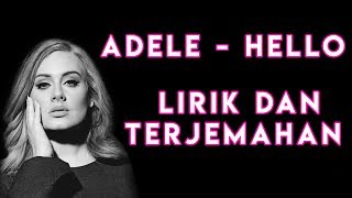 ADELE - HELLO LIRIK DAN TERJEMAHAN