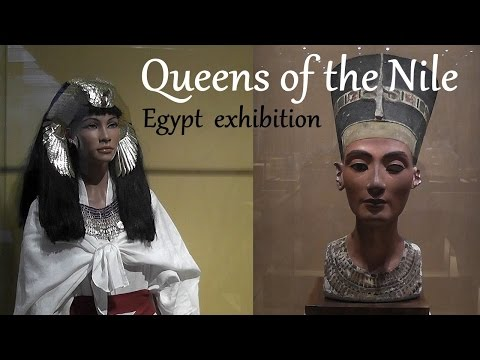 Queens of the Nile - Egypt exhibition in Leiden (Holland) HD