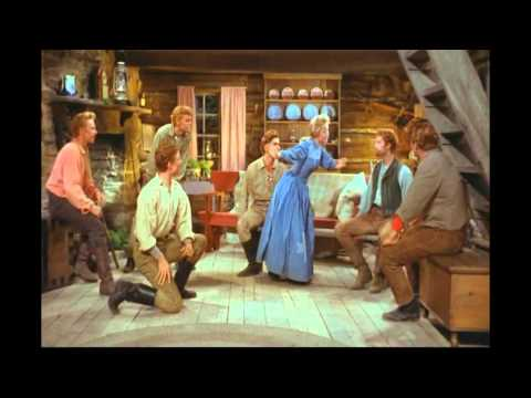 Jane Powell & The Brothers  Goin Courtin 7 Brides for 7 Brothers HD