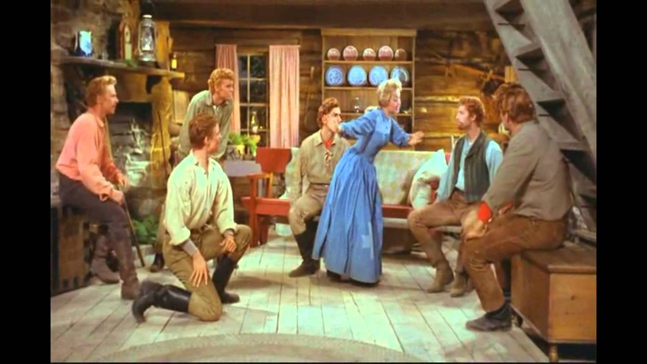 Download Jane Powell & The Brothers - Goin' Courtin' (7 Brides for 7 Brothers) HD