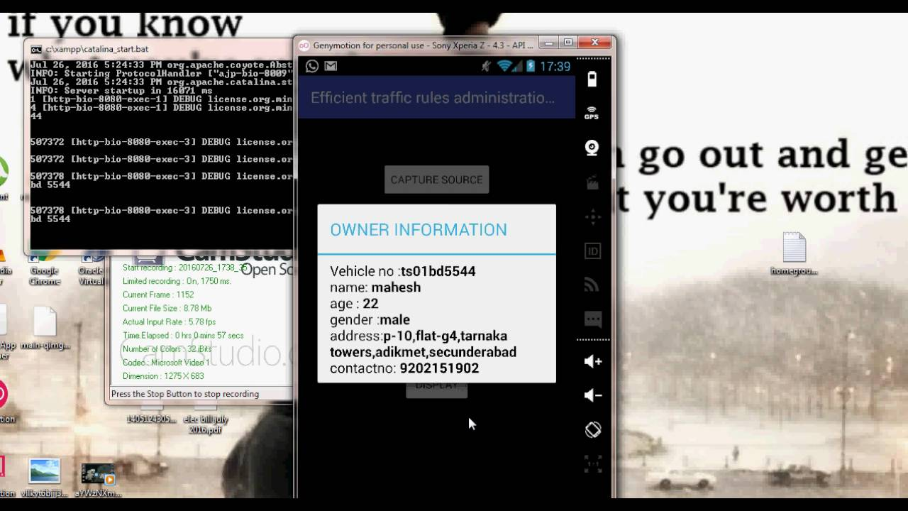 Android app Indian License Plate Recognition Project using Pattern  Recognition