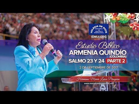 461-Estudio bíblico-Armenia, Colombia- Parte 2 - Hna. María Luisa Piraquive, IDMJI