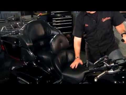 Saddlemen Road Sofa Deluxe Touring Seat Youtube