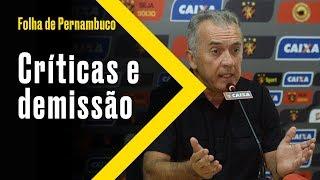 [Esportes] Nelsinho Baptista critica diretoria do Sport e pede demissão