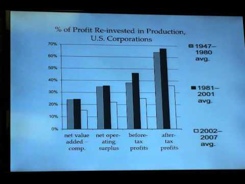 Andrew Kliman on the Failure of Capitalist Production: Video 1 of 2