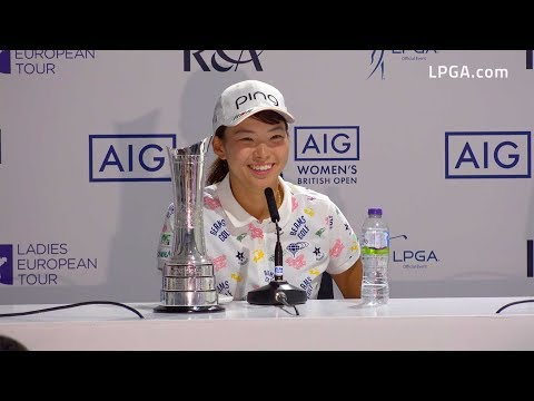 Hinako Shibuno Victorious at the 2019 AIG Women's British Open