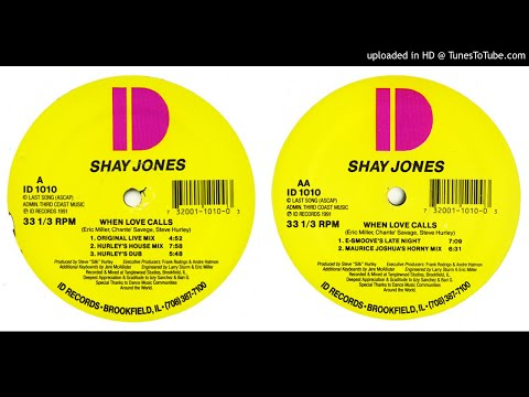Shay Jones - When Love Calls (Remixes) from YouTube · Duration:  21 minutes 16 seconds