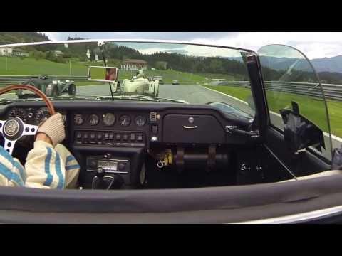Ventielspiel 2013 Onboard Camera Jaguar Etype S2 OTS 4.2