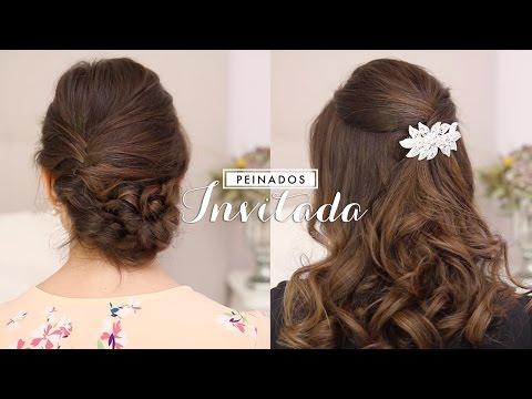 Peinados fáciles Invitada ♥ Boda, bautizo...